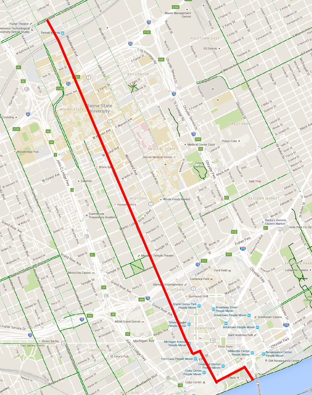Google Maps – Detroit Greenways Coalition
